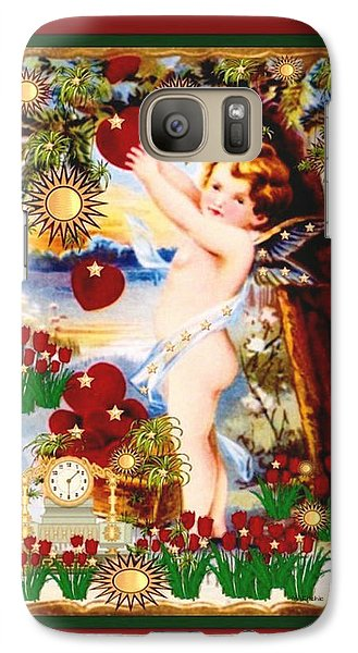 Galaxy Case featuring the digital art My Valentine by Mary Anne Ritchie