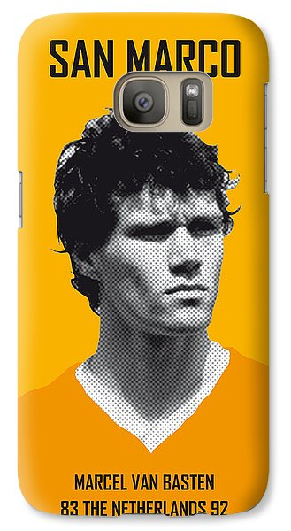My Van Basten Soccer Legend Poster Galaxy S7 Case by Chungkong Art