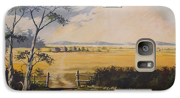 Galaxy Case featuring the painting My Way Home by Anthony Mwangi