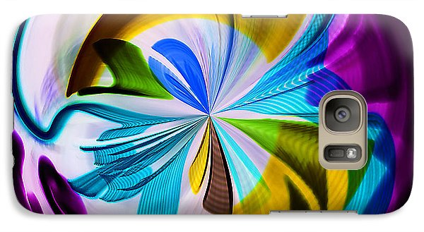 Galaxy Case featuring the photograph My World by Sonya Lang
