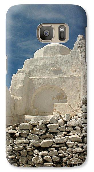 Galaxy Case featuring the photograph Mykonos Church by Vivian Christopher