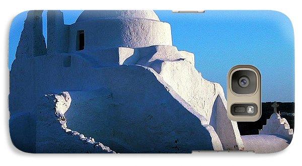 Galaxy Case featuring the photograph Mykonos Island Greece by Colette V Hera  Guggenheim