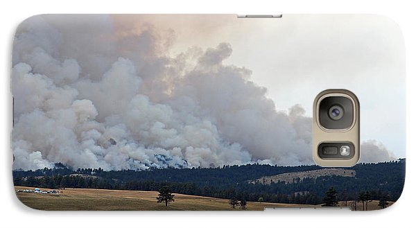 Galaxy Case featuring the photograph Myrtle Fire West Of Wind Cave National Park by Bill Gabbert
