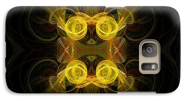 Galaxy Case featuring the digital art Mysterious Energy by Hanza Turgul