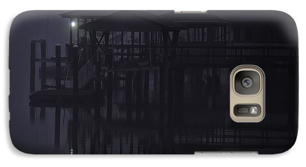 Galaxy Case featuring the photograph Mysterious Morning by Laura Ragland