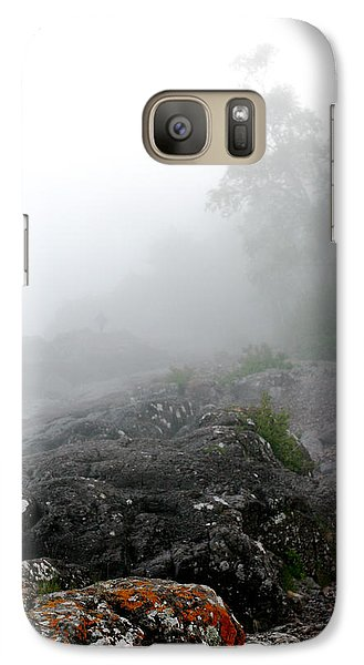 Galaxy Case featuring the photograph Mysterious North Shore by Kate Purdy