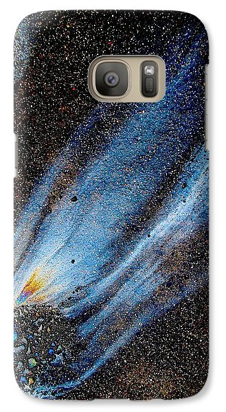 Galaxy Case featuring the photograph Mysterious Traveler by Samuel Sheats