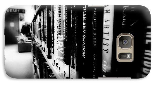 Galaxy Case featuring the photograph Mystery At The Library by Lucinda Walter