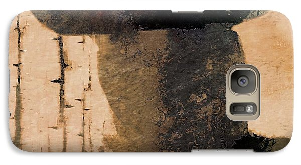 Galaxy Case featuring the photograph Mysterious Cowboy  by Aaron Berg