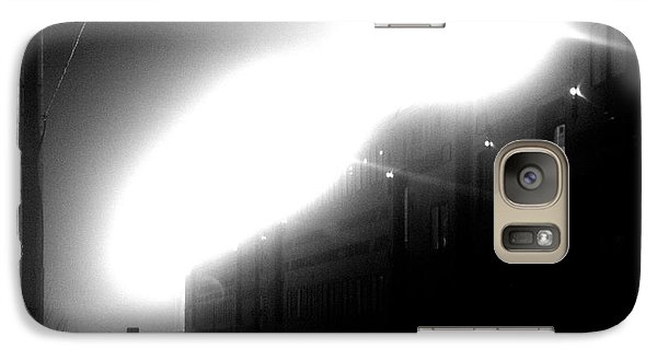 Galaxy Case featuring the photograph Mystery Train by Steven Macanka