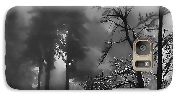 Galaxy Case featuring the photograph Mystic Fog by Don Schwartz