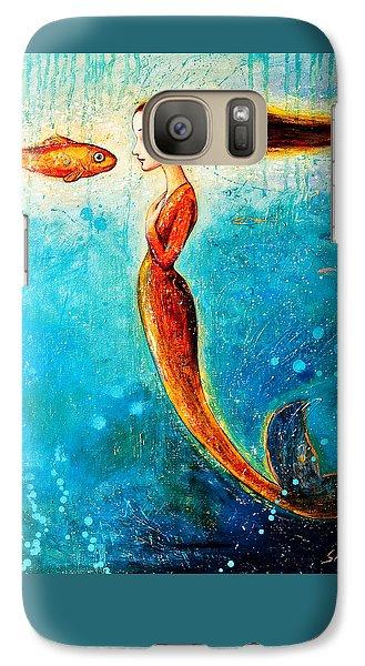 Extinct And Mythical Galaxy S7 Case - Mystic Mermaid II by Shijun Munns