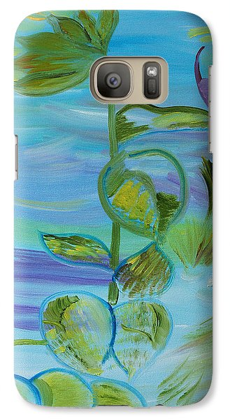 Galaxy Case featuring the painting Mystical Moods by Meryl Goudey