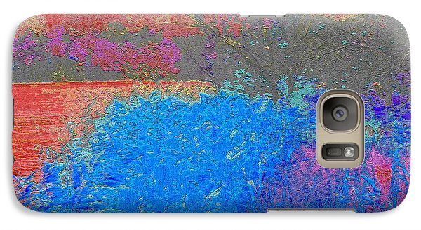 Galaxy Case featuring the photograph Mystical Moon by Ann Johndro-Collins