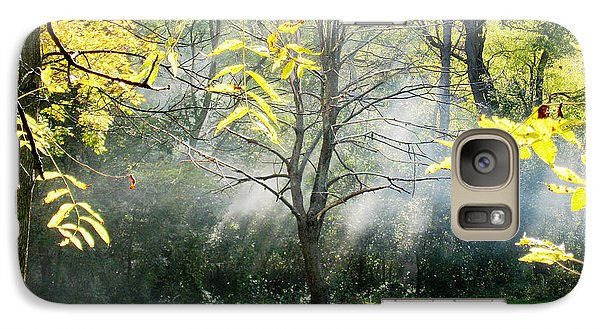 Galaxy Case featuring the photograph Mystical Parkland by Nina Silver
