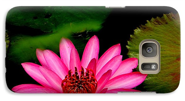 Galaxy Case featuring the photograph Mystical Water Lilly by Jodi Terracina