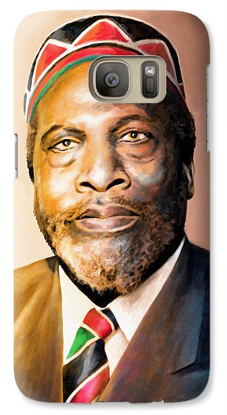 Mzee Jomo Kenyatta Galaxy S7 Case by Anthony Mwangi