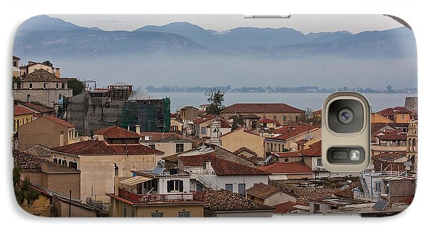 Galaxy Case featuring the photograph Nafplio by Shirley Mitchell