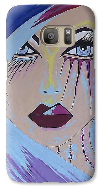 Galaxy Case featuring the painting Naira by Kathleen Sartoris