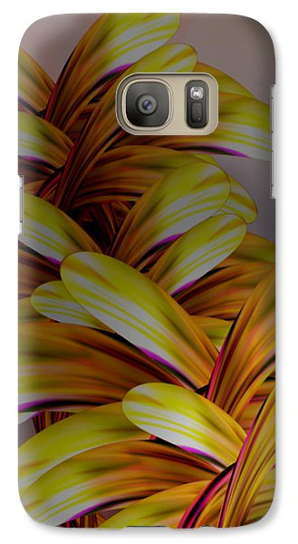 Galaxy Case featuring the digital art Naked Petals by Steve Sperry