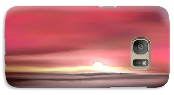 Galaxy Case featuring the digital art Namaste by Yul Olaivar