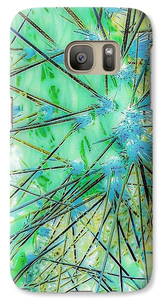 Galaxy Case featuring the photograph Nambe Cactus by William Wyckoff