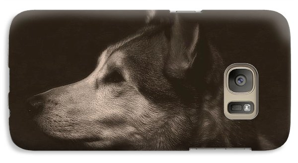 Galaxy Case featuring the photograph Nanuk Of The North by Marjorie Imbeau