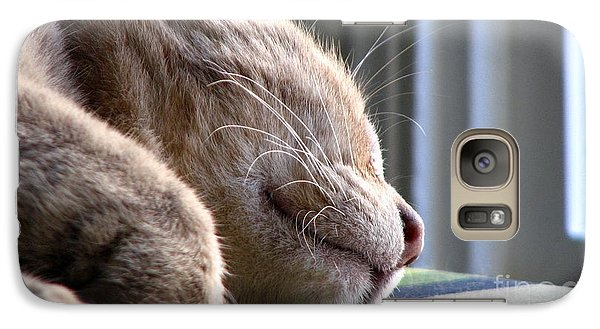 Galaxy Case featuring the photograph Nap Time by Sandra Bauser Digital Art