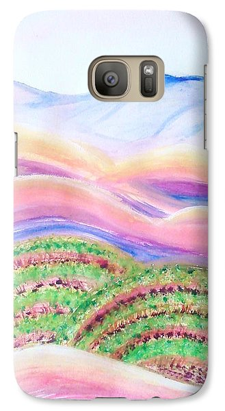 Galaxy Case featuring the painting Napa Valley by Carol Duarte