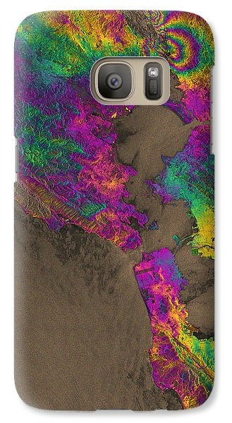 Galaxy Case featuring the photograph Napa Valley Earthquake, 2014 by Science Source