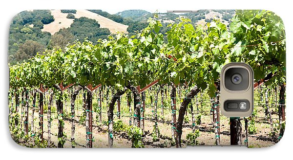 Galaxy Case featuring the photograph Napa Vineyard Grapes by Shane Kelly