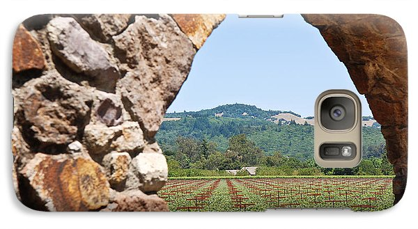 Galaxy Case featuring the photograph Napa Vineyard by Shane Kelly