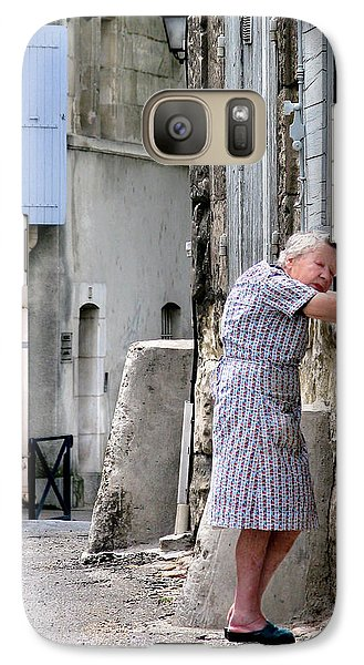 Galaxy Case featuring the photograph Naptime In Arles. France by Jennie Breeze