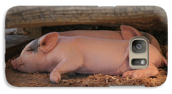 Galaxy Case featuring the photograph Naptime by Kathleen Scanlan