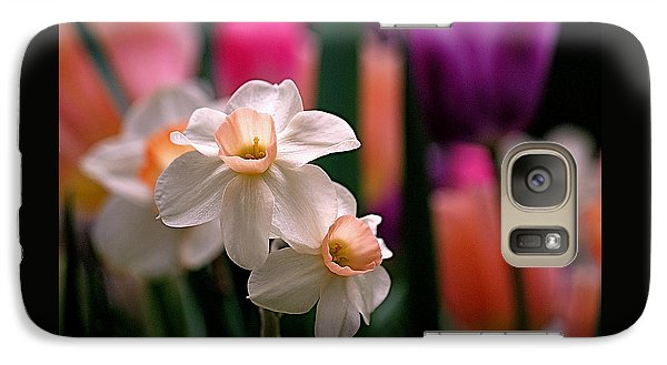 Narcissus And Tulips Galaxy S7 Case