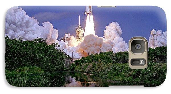 Galaxy Case featuring the photograph Nasa Atlantis Launch 1 by Rod Jones