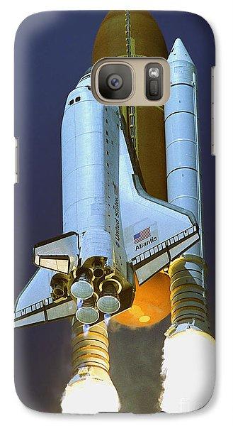 Galaxy Case featuring the photograph Nasa Atlantis Launch 2 by Rod Jones