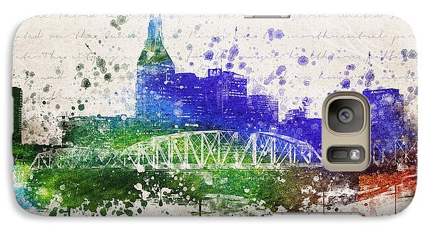 Nashville In Color Galaxy S7 Case