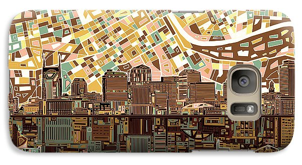 Nashville Skyline Abstract 4 Galaxy S7 Case