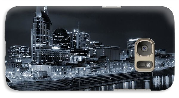 Nashville Skyline At Night Galaxy S7 Case