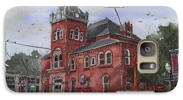 Galaxy Case featuring the painting Natchitoches Parish Courthouse by Tim Oliver