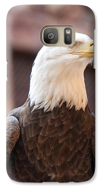 Galaxy Case featuring the photograph American Bald Eagle by John Black