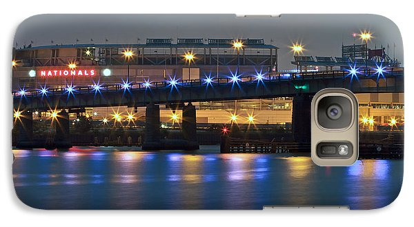 Galaxy Case featuring the photograph Nationals Park by Jerry Gammon