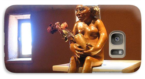 Galaxy Case featuring the photograph Native American Art by Dora Sofia Caputo Photographic Art and Design