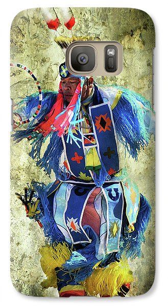 Galaxy Case featuring the photograph Native American Dancer by Barbara Manis