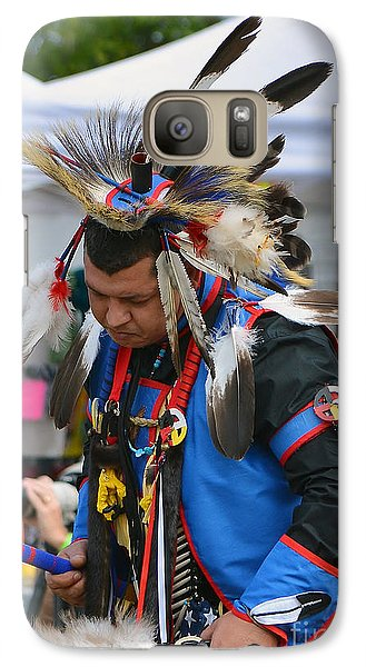 Galaxy Case featuring the photograph Native American Dancer by Kathy Baccari