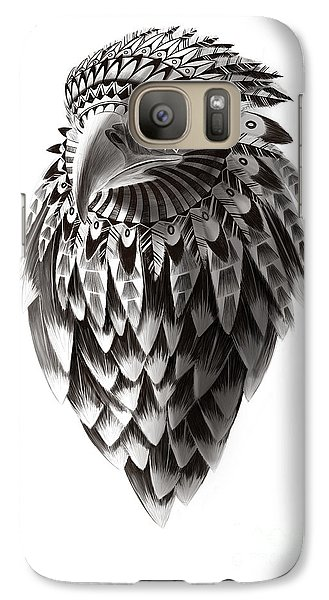 Falcon Galaxy S7 Case - Native American Shaman Eagle by Sassan Filsoof