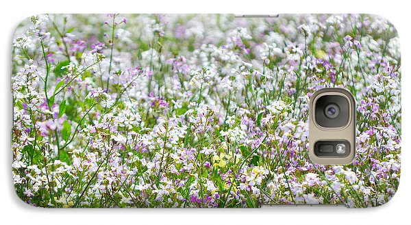 Galaxy Case featuring the photograph Native Chumash Central Coast Wildflowers by Kyle Hanson