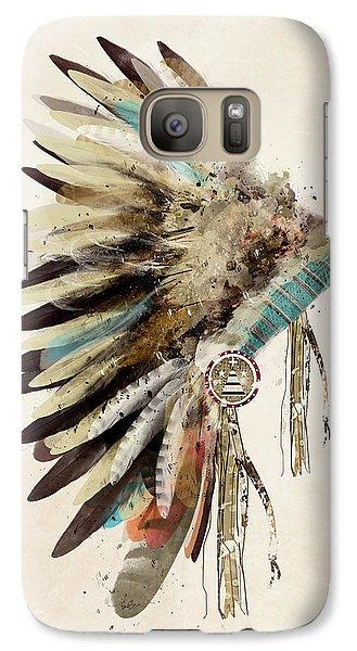 Native Headdress Galaxy S7 Case