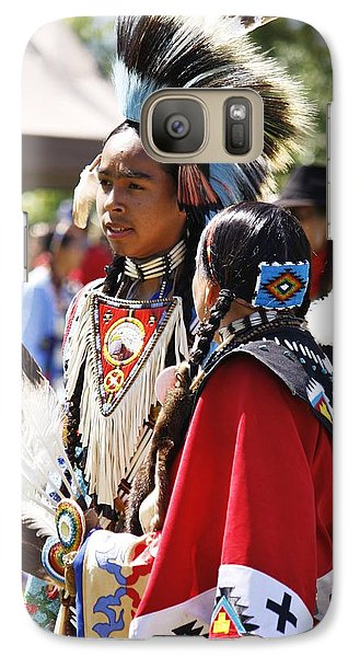 Galaxy Case featuring the photograph Native Pride Shines by Al Fritz
